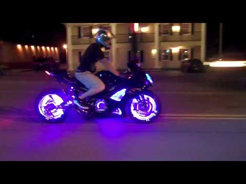MOTORCYCLE CUSTOM WHEEL LIGHT KITS FROM ALL THINGS CHROME