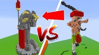 Thử Thách Làm Liên Minh Huyền Thoại Trong Minecraft