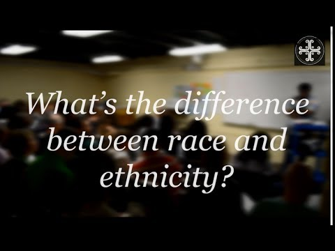 Difference Between Race and Ethnicity | Race and Reconciliation