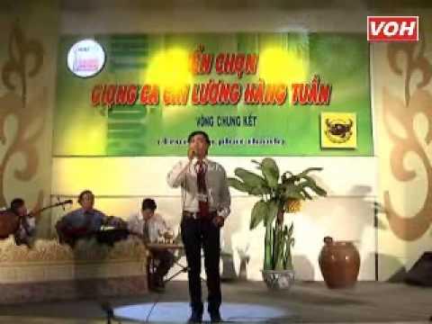 VOH Media   Thí sinh  Ngô Minh Đương SBD  053 Mùa hoa đào Sáng tác  Việt Sơn   Phụng hoàng 12 câu   15 12 2012