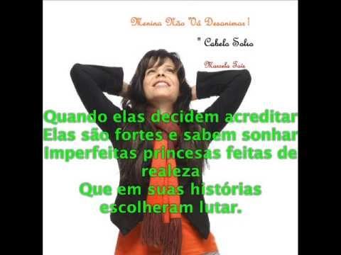 Menina não vá desanimar-Marcela Taís letra