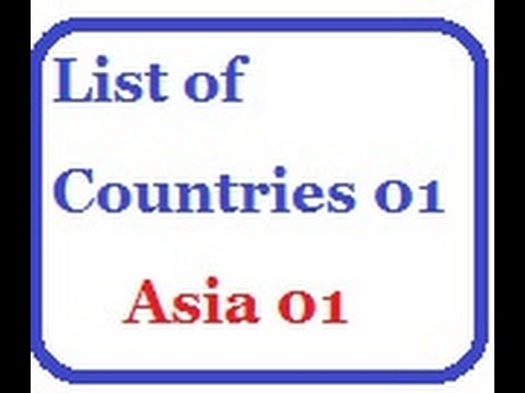 List of Countries 01