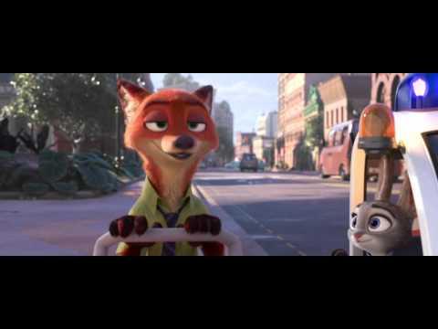 Zootropolis Mesto Zvierat - filmov� trailer