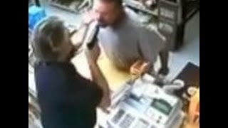 [Iraq Veteran Turns Tables on Liquor Store Robber - Gun Owner...] Video