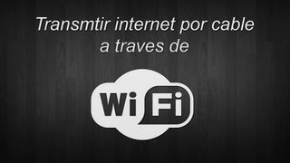 Como Dar Internet A Un Dispositivo Apple Por Wi-Fi Desde