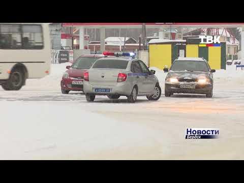 В Бердске инспекторы ГИБДД ловили пьяных водителей