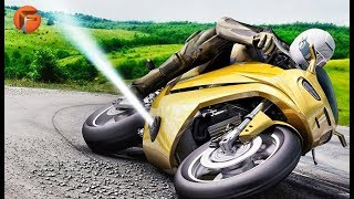 THIS Motorcycle Uses JET THRUSTERS to Enhance Safety