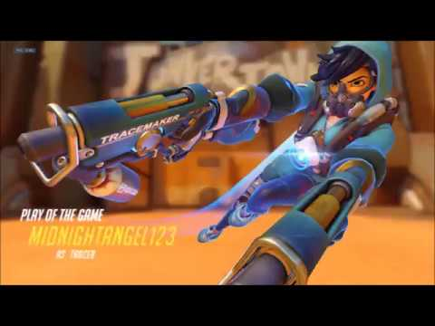 Tracer Montage | Overwatch Montage