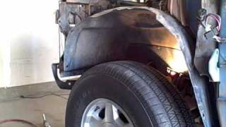 Chevy Driver Fender Removal