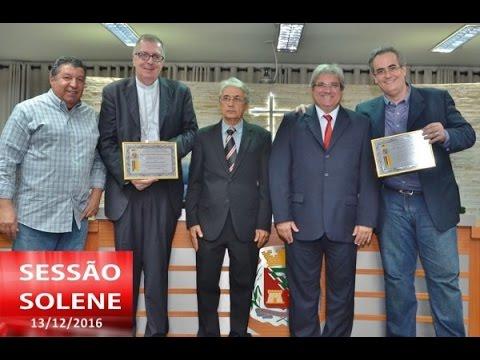 Dom Milton recebe título de Cidadão Barretense