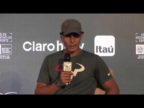 Rio de Janeiro 2014 Preview Nadal Interview