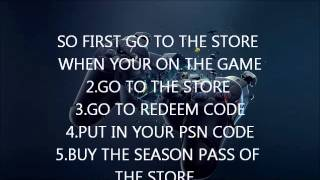 How To Get Call Of Duty Ghost Season Pass For Free