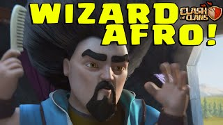 Clash Of Clans: WIZARD AFRO! (Wizard Limited Time Event