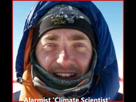 Irony as Warmist Climate Scientist is Trapped in Sea Ice