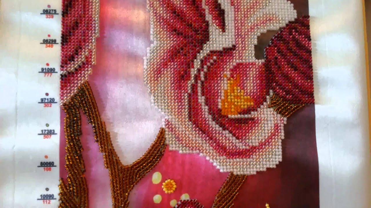 Ольга вышивка бисером ютуб
