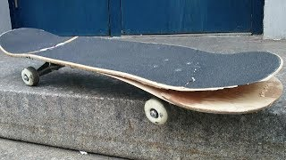 THE WEIRDEST SKATEBOARD BREAK OF ALL TIME?!