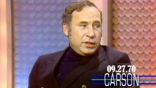 Carson: Mel Brooks, Sharks Will Not Harm You, 1970