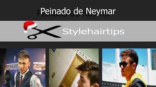 Peinado Inspirado En Neymar 2x1 Neymar Hairstyle