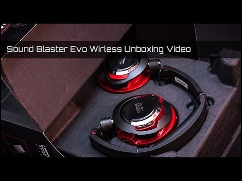Creative Sound Blaster Evo Wireless Unboxing HD/german