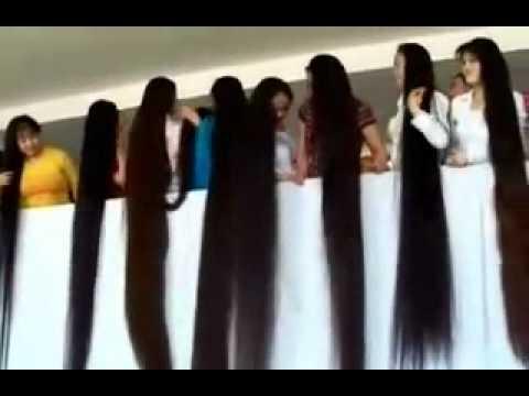 مسابقة اطول شعر