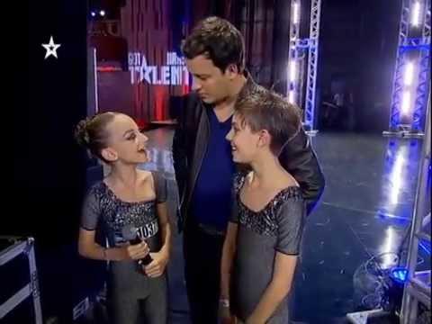 Giulia e Gabriel em Apresentação de Balé - GOT TALENT BRASIL 2013
