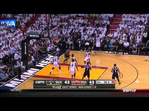 Mirza Teletovic 6 Threes - 20 Pts vs Heat | Game 2