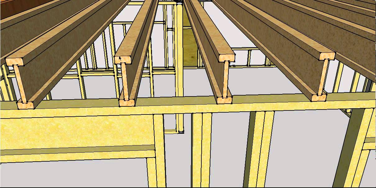 Installing And Blocking Deep Joists Youtube