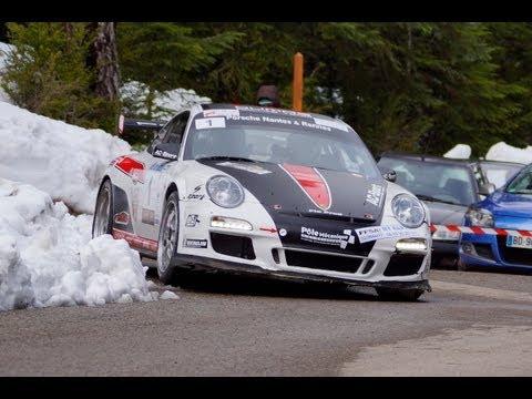 Romain Dumas Porsche 997 GT3 RS Rallye Grasse Fleurs & Parfums 2013
