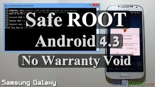 [No Warranty Void] Safe Root Android 4.3 For Samsung
