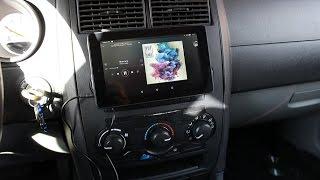 Instalación de tablet en coche