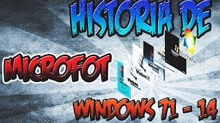 Historia De Microsoft Windows 1975 2014 Evolucion De
