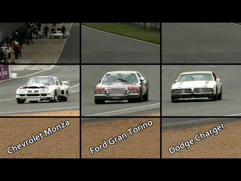 V8-Soundcheck at LeMans Classic