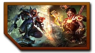 League of Legends duo z Gimperem Zed + Viktor