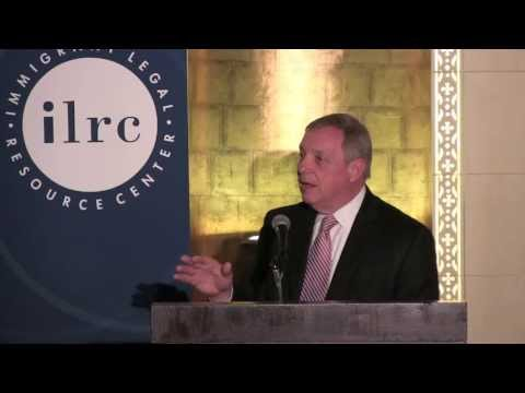 Senator Dick Durbin at the 23rd Phillip Burton Immigration & Civil Rights Awards