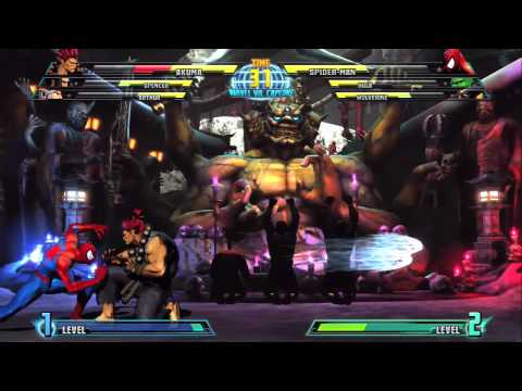 Akuma Intro - MARVEL VS. CAPCOM 3 -Giqtjk7EN3c