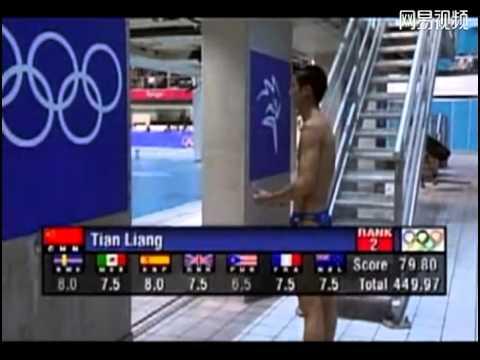 爸爸去哪儿田亮奥运冠军2000年悉尼奥运会10米台金牌