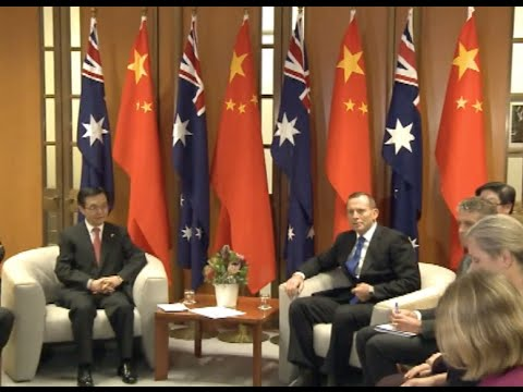 China, Australia Sign Free Trade Agreement
