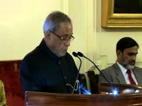 President confers Tagore cultural harmony award to Zubin Mehta