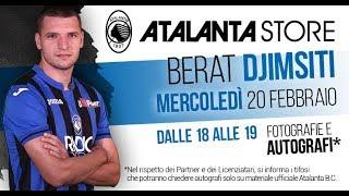 Atalanta Store: special guest Berat Djimsiti