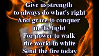 Send The Fire Lindell Cooley Worship Video With Lyrics