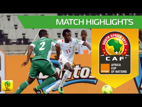 Nigeria - Burkina Faso | CAN Orange 2013 | 21.01.2013