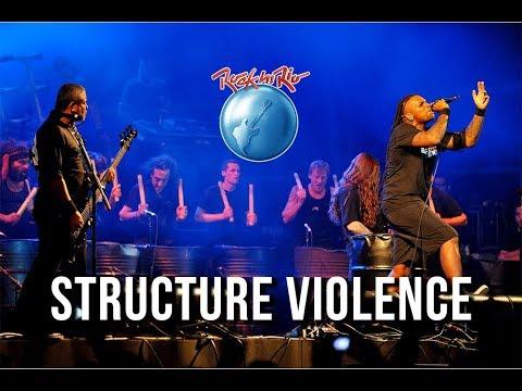Sepultura & Les Tambours du Bronx - (2011) Structure Violence (Azzes) (DVD O Melhor do Rock in Rio)