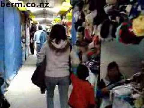 La Paz Bolivia Market