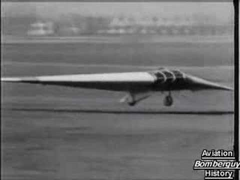 Horten Ho-2 Flying Wing Test Flight 1935