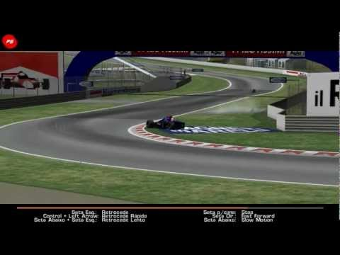 rFactor F1 1994 Imola acidente fatal Ratzenberger .avi
