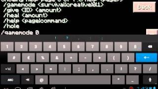 Como Poner Comandos En Minecraft Pe 0.8.1/Mod Script