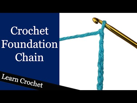 Learn the Crochet Foundation Chain - Beginner Course: Lesson #5