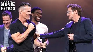 Avengers: Infinity War - D23 Expo Panel Presentation with Cast & Director Interviews