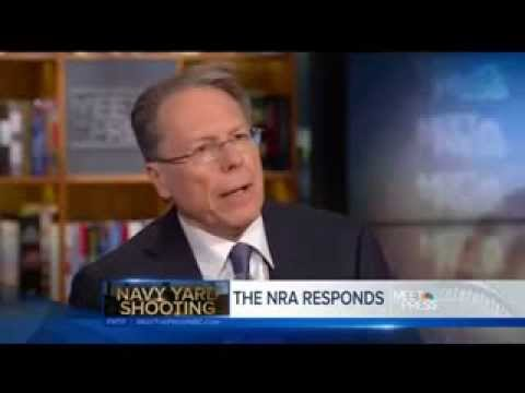 Wayne LaPierre of NRA on Navy Yard Shooting: 'There Weren't Enough Good Guys With Guns'