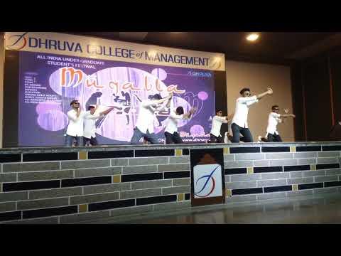 FUNNIEST DANCE EVER !!  Dhruva College of Management fest diaries 2k19 !
